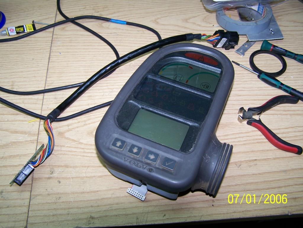 naprawa wyświetlacza EW140