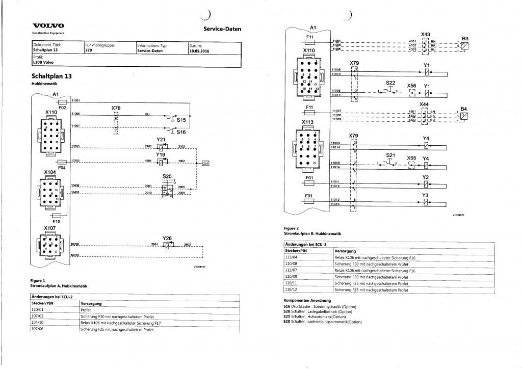 schemat elektryczny volvo l30b l35b