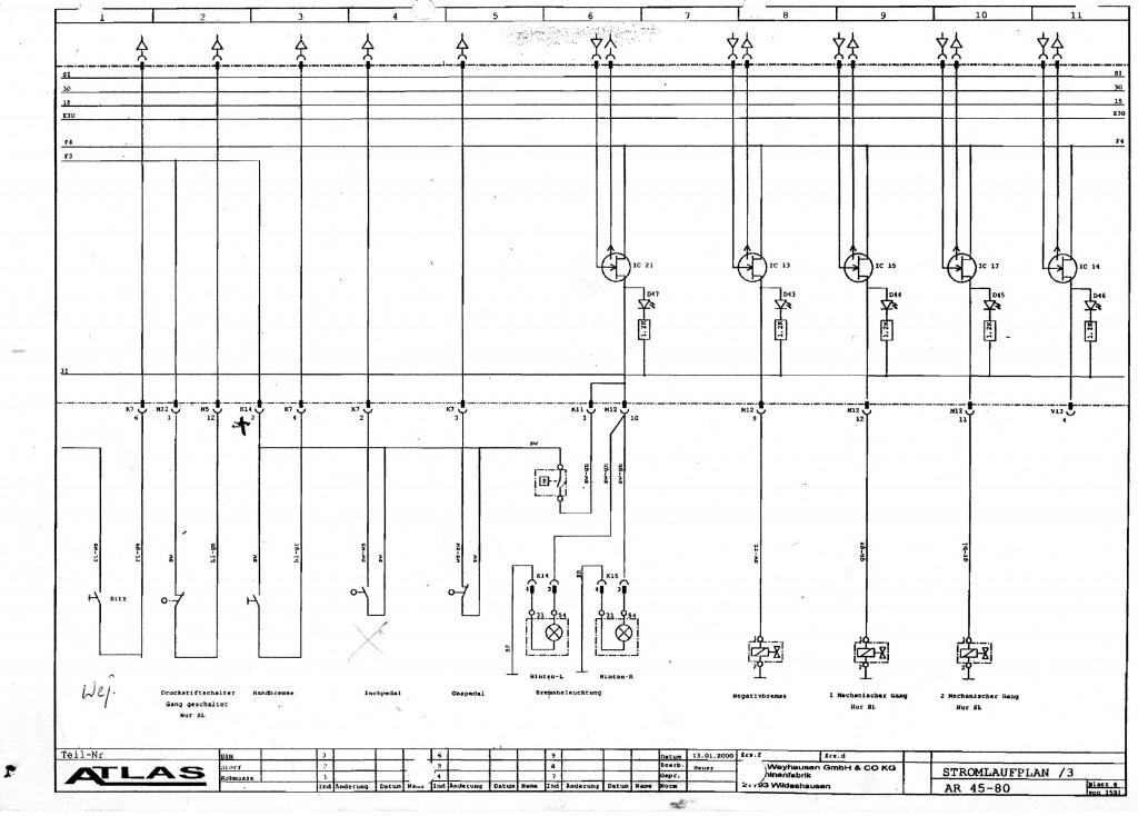 schemat elektryczny Atlas ar