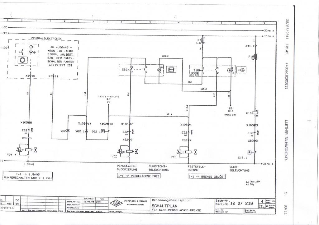 schemat elektryczny  rh8