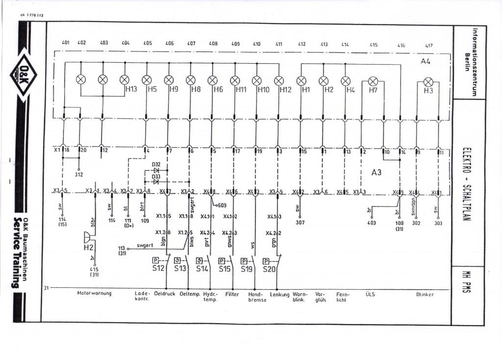 schemat elektryczny Liebherr  900 902  912