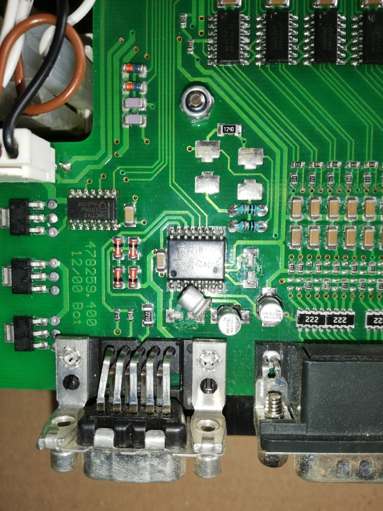 Schaeff  TC75  PLATE ELECTRONICS REPAIR