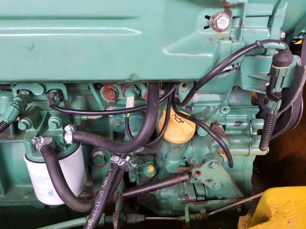 wymiana instalacji silnika volvo l30b