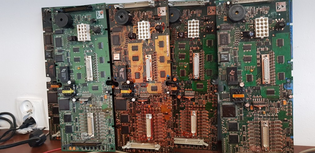 SN2458139 failure on the O&K ECU board rechnerplatine